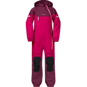 Bergans Kids Ruffen Insulated Coverall Dark Sorbet/Jam/Desert